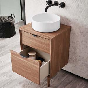 Bathstore Noir Craft 500mm Basin Unit