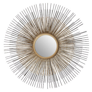 Temple Nickel Bronze Wall Mirror