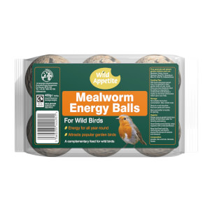 WA Energy Balls with Mealworms 6 Pack