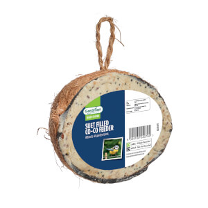 Gardman Suet Whole Suet Filled Coconut