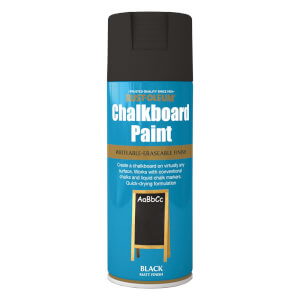 Rust-Oleum Chalk Board Spray Paint - Black - 400ml
