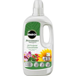 Miracle-Gro Performance Organics All Purpose Liquid Plant Food  - 1L