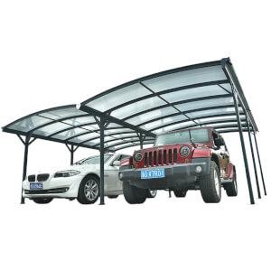 Kingston 20x10ft Aluminium Twin Carport