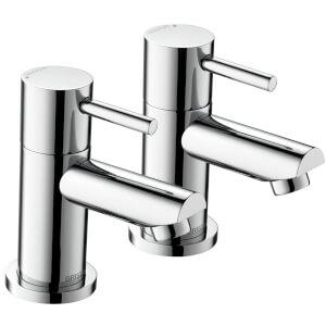 Blitz Bath Taps - Chrome