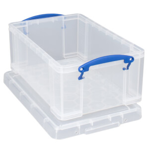 Really Useful Storage Box - Clear - 9L