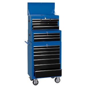 26 Inch Combination Roller Cabinet 16 Drawer