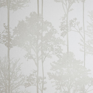 Arthouse Stardust Tree Textured Glitter Neutral Wallpaper