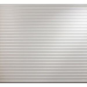 White Insulated Electric Roller Garage Door for 2150 to 2199mm (Width)