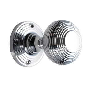 Sandleford Highgrove Mortice Knob Set - Polished Chrome