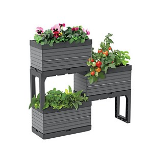 Modular Planter Set - Grey
