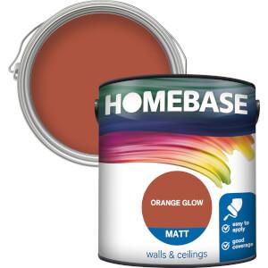 Homebase Matt Paint - Orange Glow 2.5L