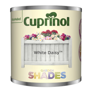 Cuprinol Garden Shades Tester - White Daisy - 125ml
