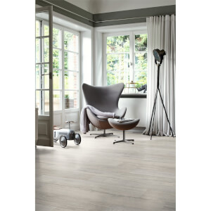 EGGER HOME Grey Elva Oak 10mm Laminate Flooring