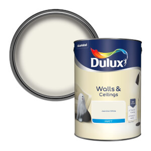 Dulux Jasmine White - Matt Emulsion Paint - 5L