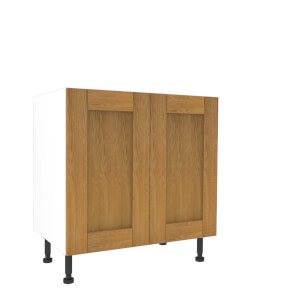 Timber Shaker Oak 800mm Base Unit