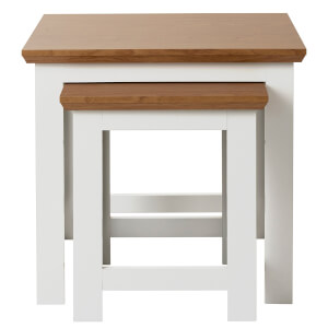 Diva Nest of 2 Tables - Ivory