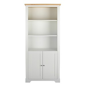 Diva Storage Bookcase - Ivory