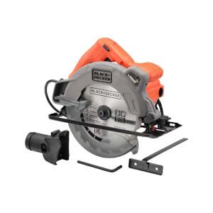 BLACK+DECKER 1250W Corded Circular Saw with Blade (CS1250L-GB)