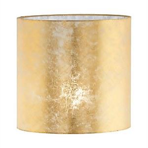 Eglo Viserbella Textured Champagne Gold Easyfit Shade - 28cm