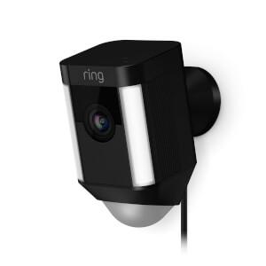 Ring Hardwired Spotlight Camera - Black