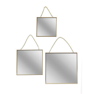 Asymmetric Mirrors Set of 3