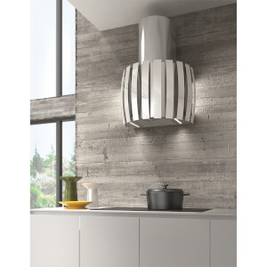 Inox Kudos Wall Mounted Extractor Stainless Steel - White