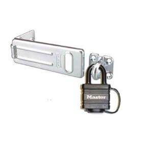 Master Lock Weatherproof Padlock and Hasp Set - 40mm
