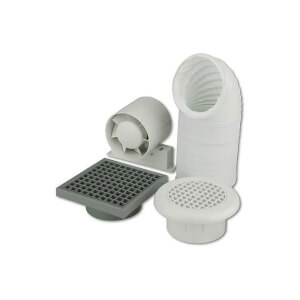 Shower Fan Kit With Timer