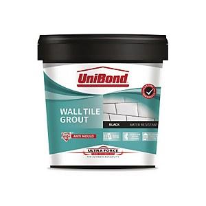 UniBond UltraForce Wall Tile Grout Black 1.38kg