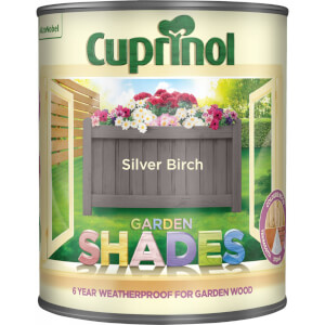 Cuprinol Garden Shades - Silver Birch - 1L