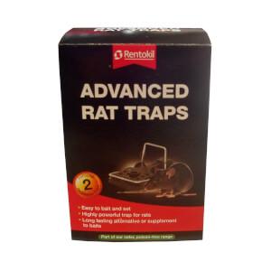 Rentokil Advanced Rat Traps (Pack of 2)