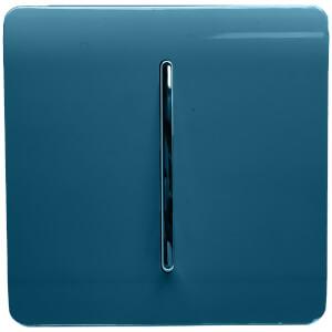 Trendi Switch 1 Gang 2 Way 10Amp Light Switch Midnight Blue