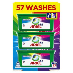 Ariel Colour All-in-1 Pods 57 Wash