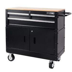 36 Mobile Workbench With Tool Storage