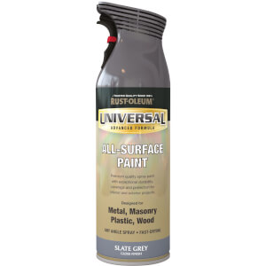 Rust-Oleum Universal Gloss Spray Paint - Slate Grey - 400ml