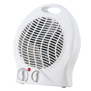 Upright Fan Heater White 2000W