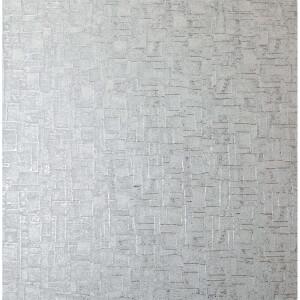 Arthouse Basalt Texture Silver Wallpaper