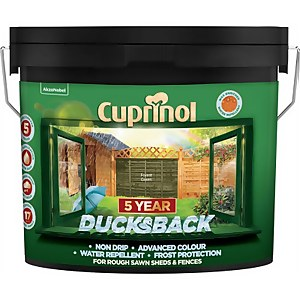 Cuprinol 5 Year Ducksback - Forest Green - 9L