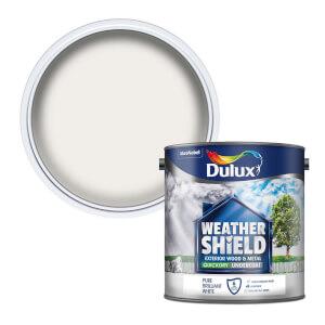Dulux Weathershield Exterior Quick Dry Undercoat - Pure Brilliant White - 2.5L