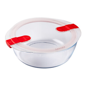 Pyrex Cook & Heat Round Dish with Lid