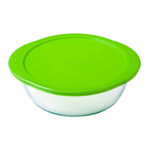 Pyrex Cook & Store Round Dish with Lid - 2.3L