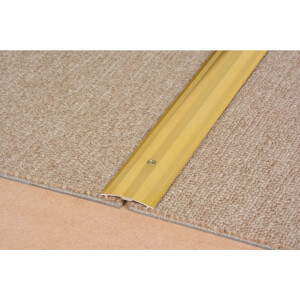 Cover Strip Carpet Edge - Gold 900mm