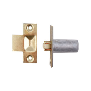 Bales Catch - Satin Nickel - 19mm