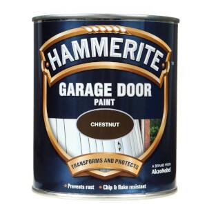 Hammerite Chestnut - Garage Door Enamel Exterior Paint - 750ml