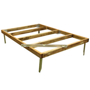 Mercia 7x5ft Pressure Treated Wooden Shed Base