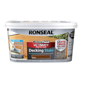 RONSEAL P/FINISH ULT DECK STAIN RICH TEA