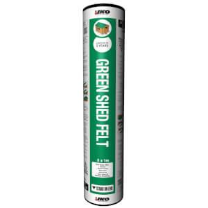 IKO Waterproofing Green Shed Felt - 8m x 1m