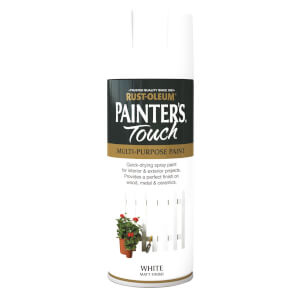 Rust-Oleum Matt Spray Paint - White - 400ml