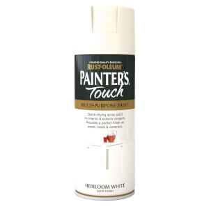 Rust-Oleum Satin Spray Paint - Heirloom White - 400ml