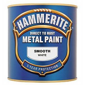 Hammerite Gold - Exterior Smooth Metal Paint - 250ml